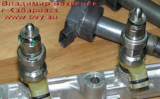 инжекторы готовы к установке двигатель 3S-FSE