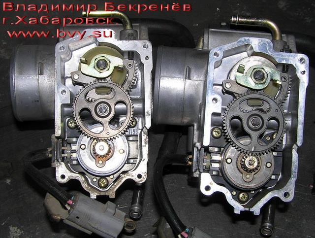 привод заслонки двигатель 3S-FSE