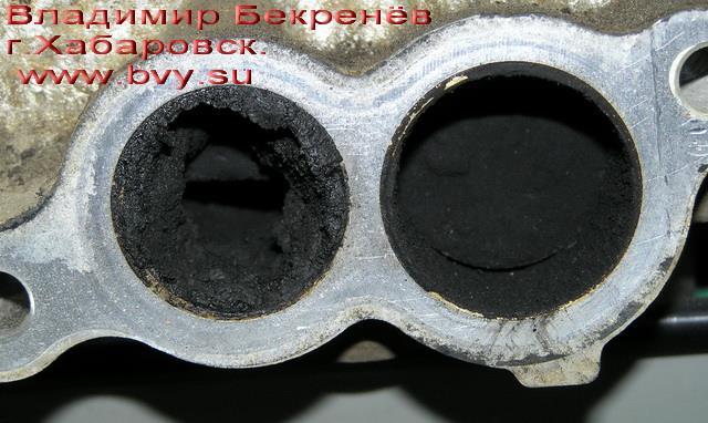 кокс на заслонках двигатель 3S-FSE