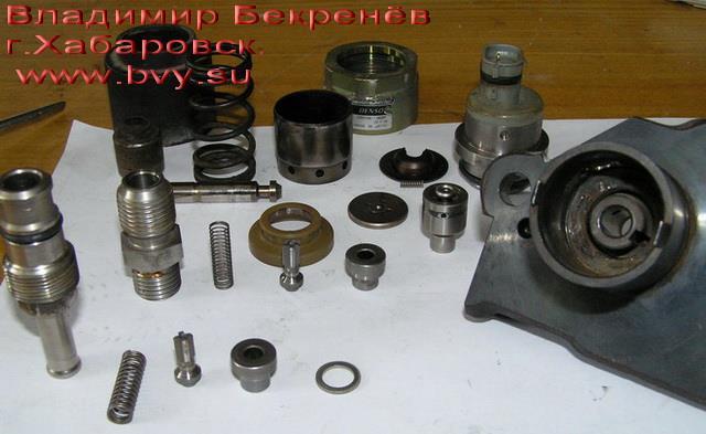 тнвд разбор двигатель 3S-FSE