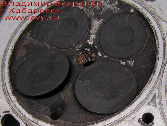 загнутый клапан в головке двигатель 3S-FSE