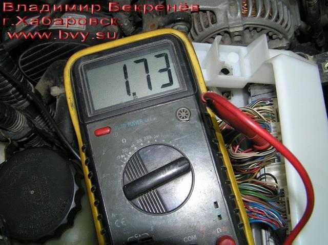 замер давления на эбу двигатель 3S-FSE