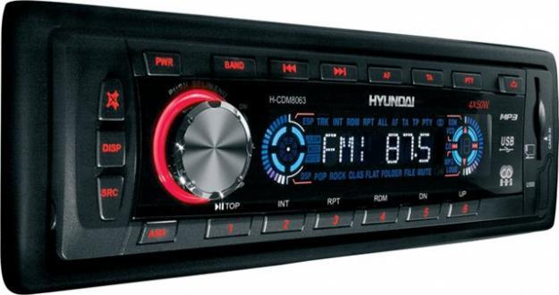 Hyundai автомагнитолы