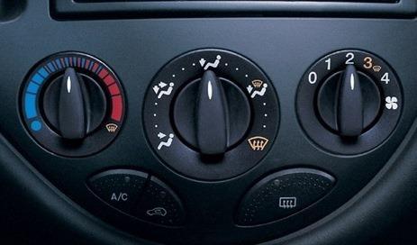 Ремонт механизма регулятора направления воздуха в Ford Focus 1