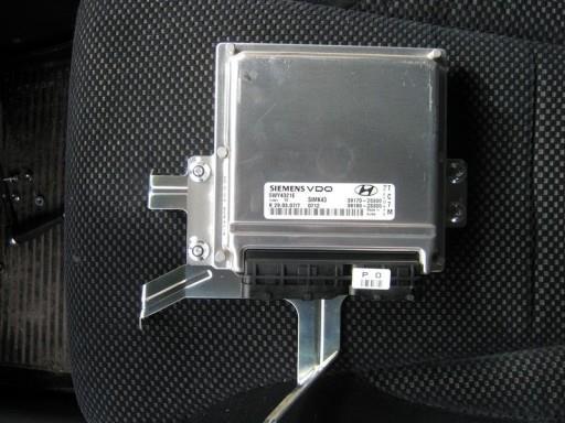 Hyundai Tucson 2.0L G4GC - Внешний вид снятого ЭБУ Siemens SIMK43