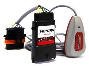 На фото - шпора для электронной педали газа, techno-tuning.ru