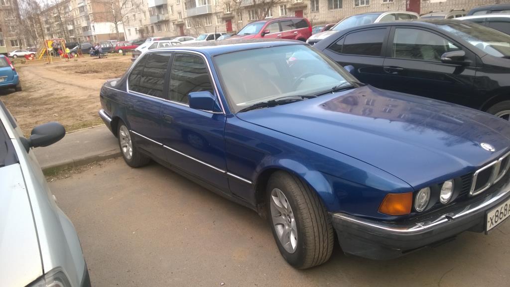 BMW 730i АКПП