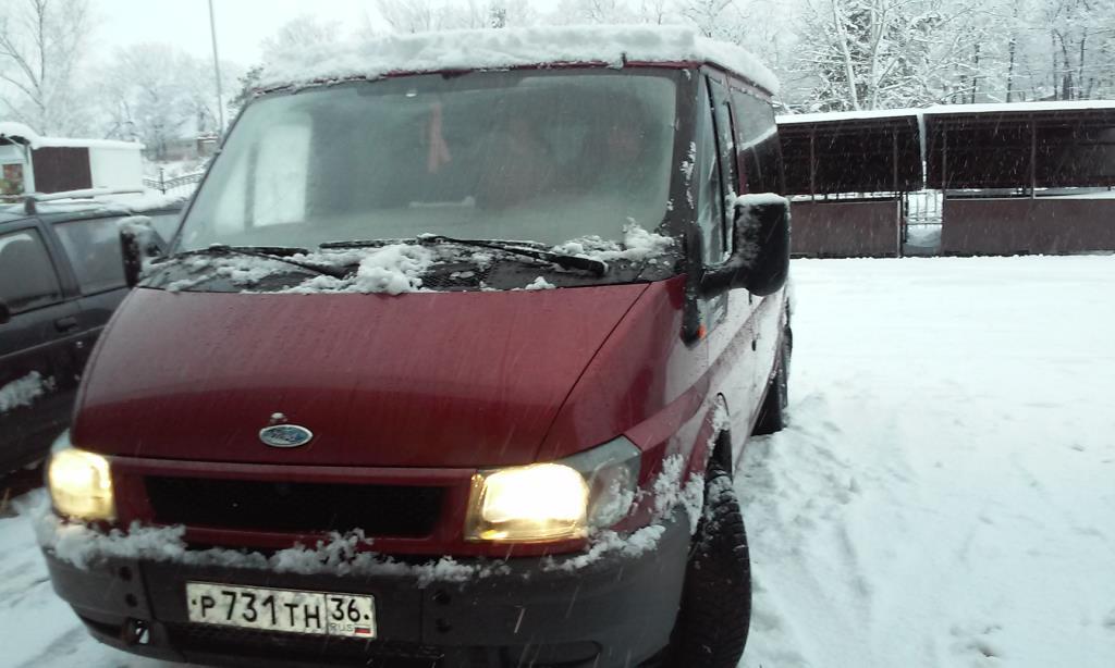 форд транзит 2003 дизель 7 мест