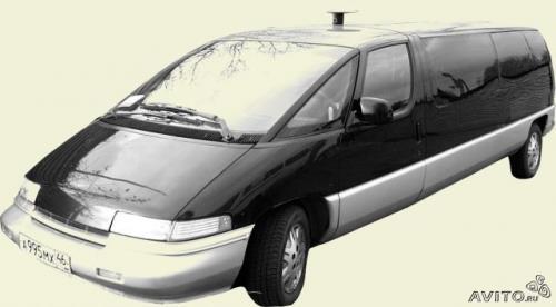 Шевроле -люмина лимузин