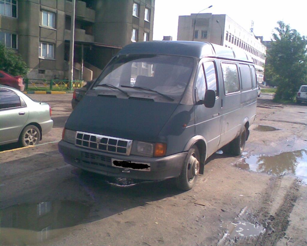 ГАЗель 2705 7-ми местная