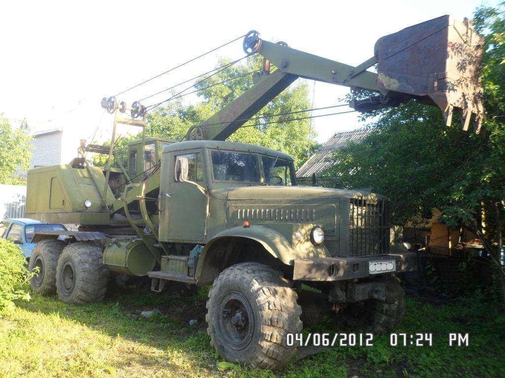 ЭО-305 на базе КРаЗ 256БВ