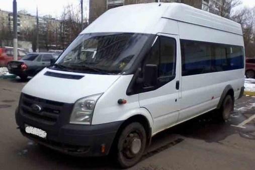 Ford Transit 2007 Микроавтобус