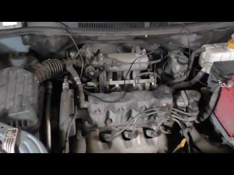 Ремонт автомобиля Chevrolet Aveo (Шевроле Авео) Почему троит двигатель?