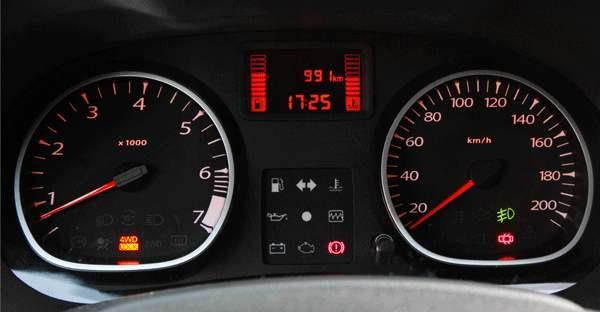 Renault Duster приборная доска