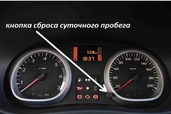 Renault Duster диагностика по приборной доске