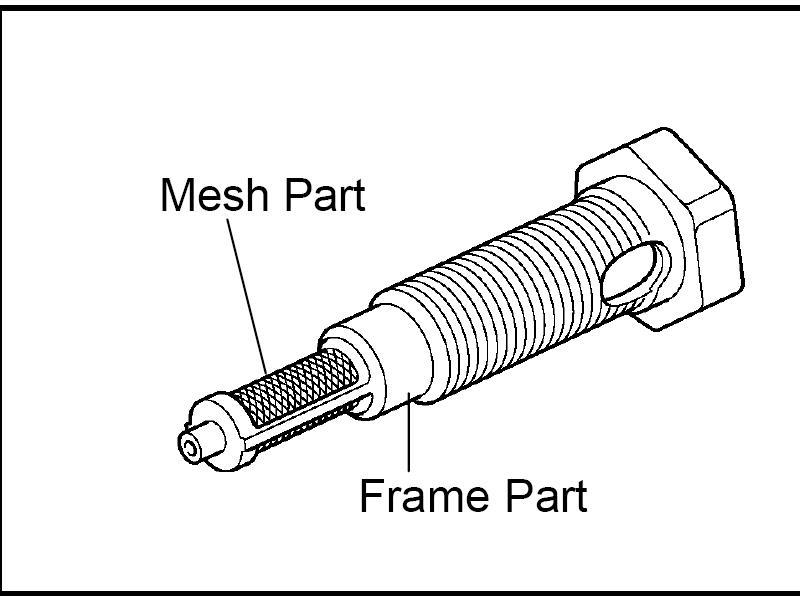 фильтр клапана системы VVTi