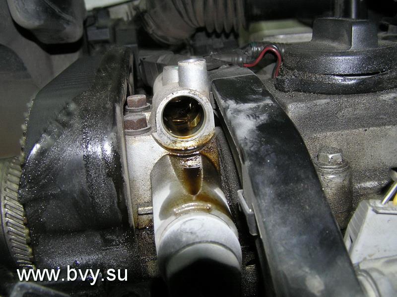 расположение клапана системы VVTi