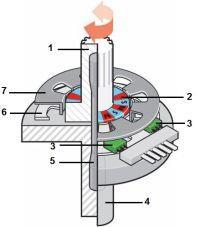Схема датчика крутящего момента