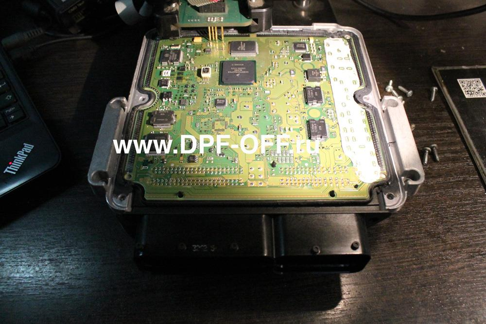 Удаление сажевого фильтра на Infiniti QX70d / Инфинити КуИкс 70 дизель