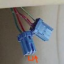 сервисный разъем SCS двух контактный и трех контактный разъем К-Линии