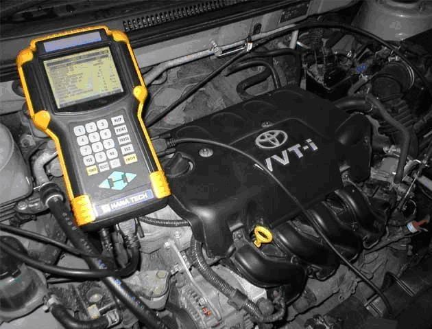 Диагностика двигателя при капельном зажигании