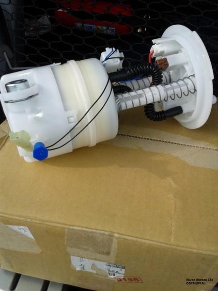 Замена топливного фильтра Nissan Murano I и установка топливного фильтра на Nissan Murano II с другой машины