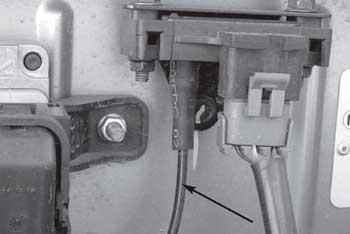 Место расположения датчика абсолютного давления во впускном коллекторе